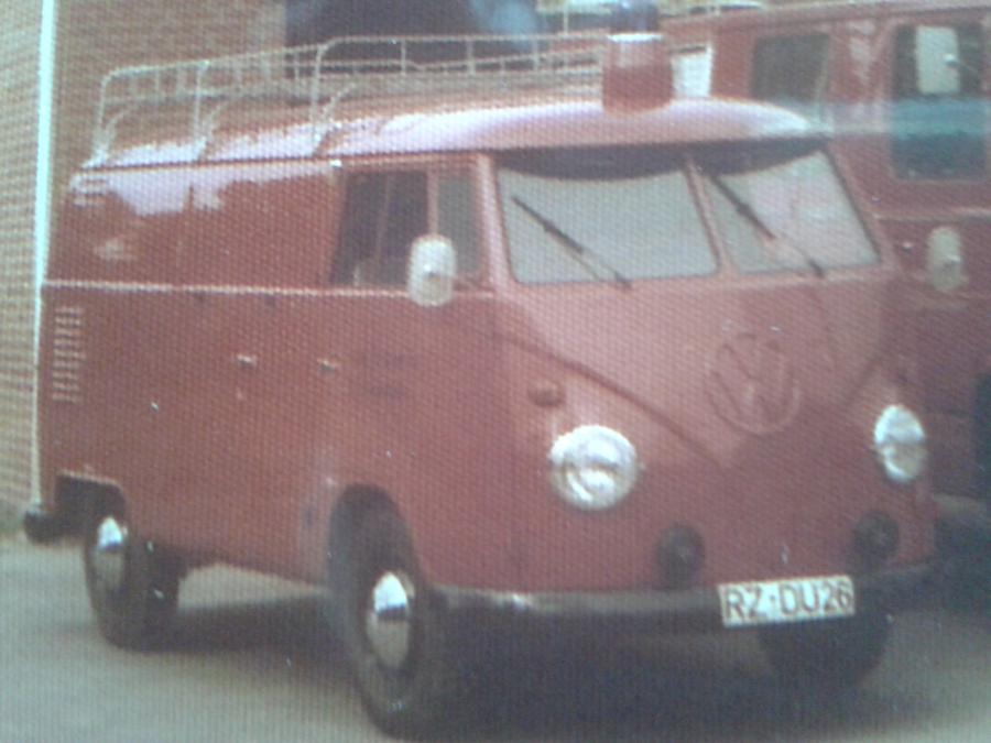 1980 Restaurierung TSF VW-Bus 1