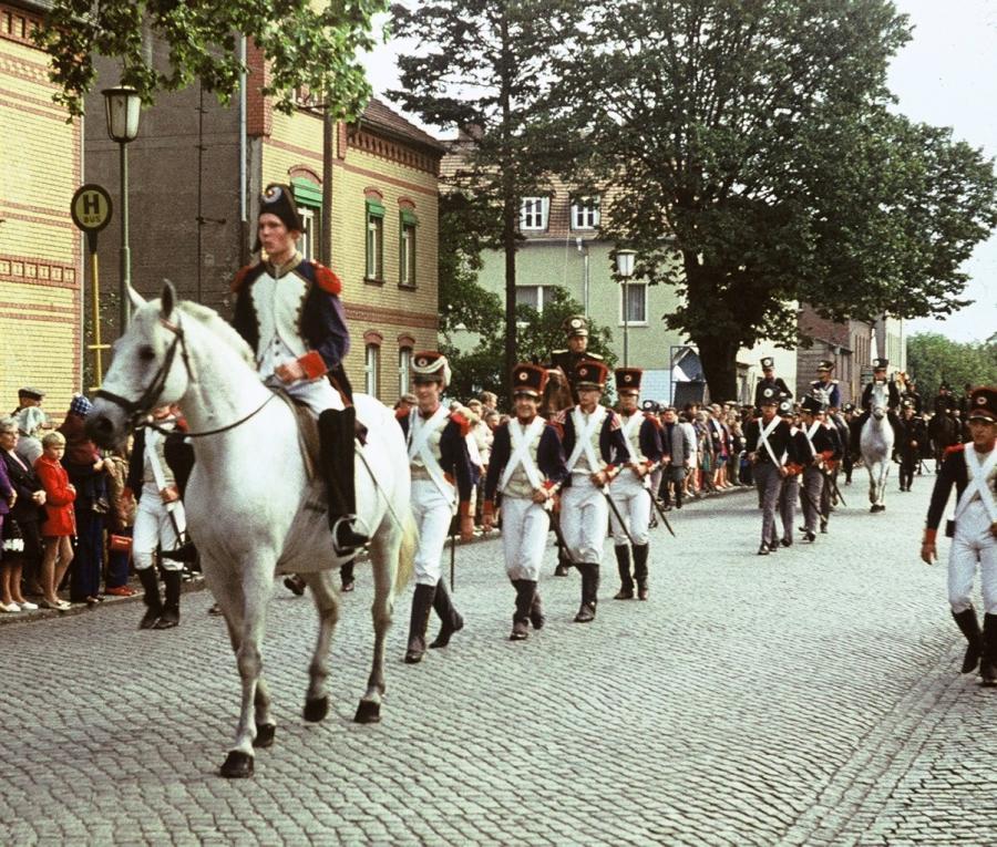 1971 Festumzug 600 Jahre Ersterwähnung