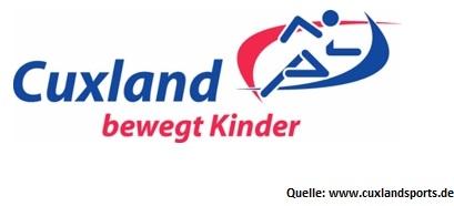 Logo Cuxland bewegt Kinder