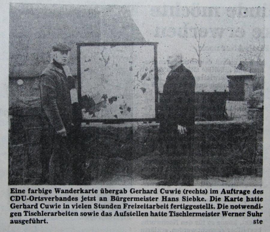 Gemeinde Schmalensee - 1982