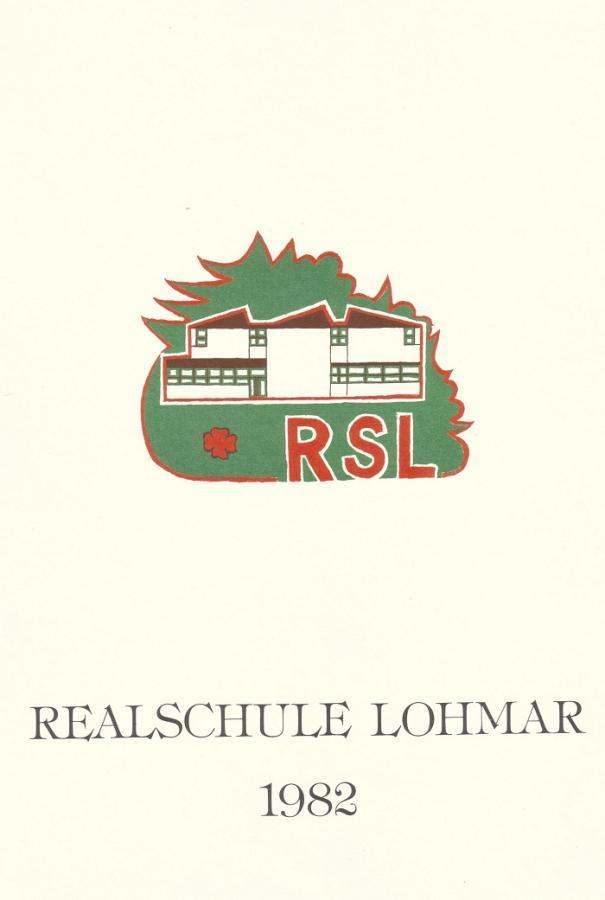 Schulkalender 1982 Titel