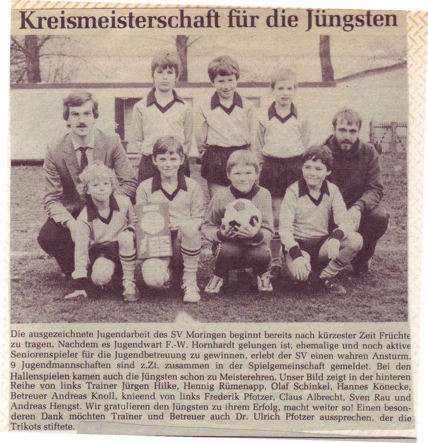 F-Jugend 1983 - 1984