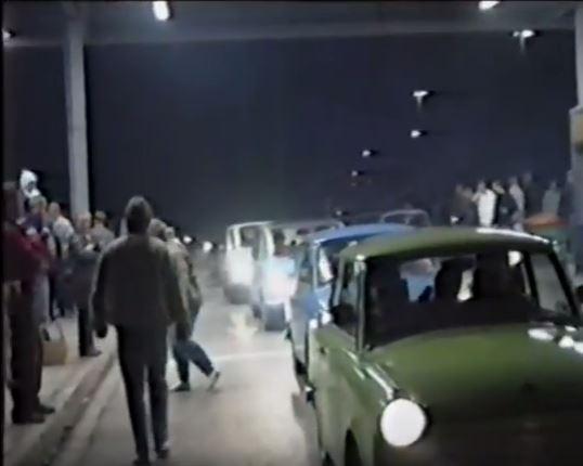 09.11.1989 Grenzöffnung  der DDR
