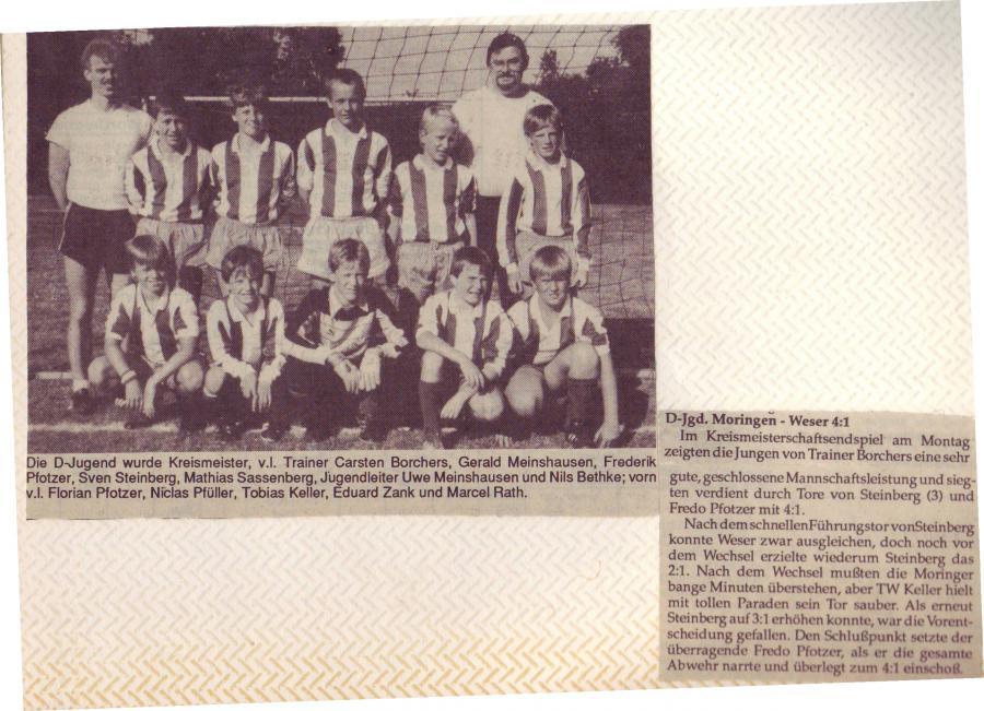 D-Jugend 1989 - 1990