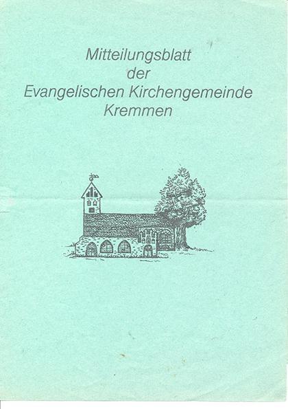 Mitteilungsblatt Kremmen April 1991