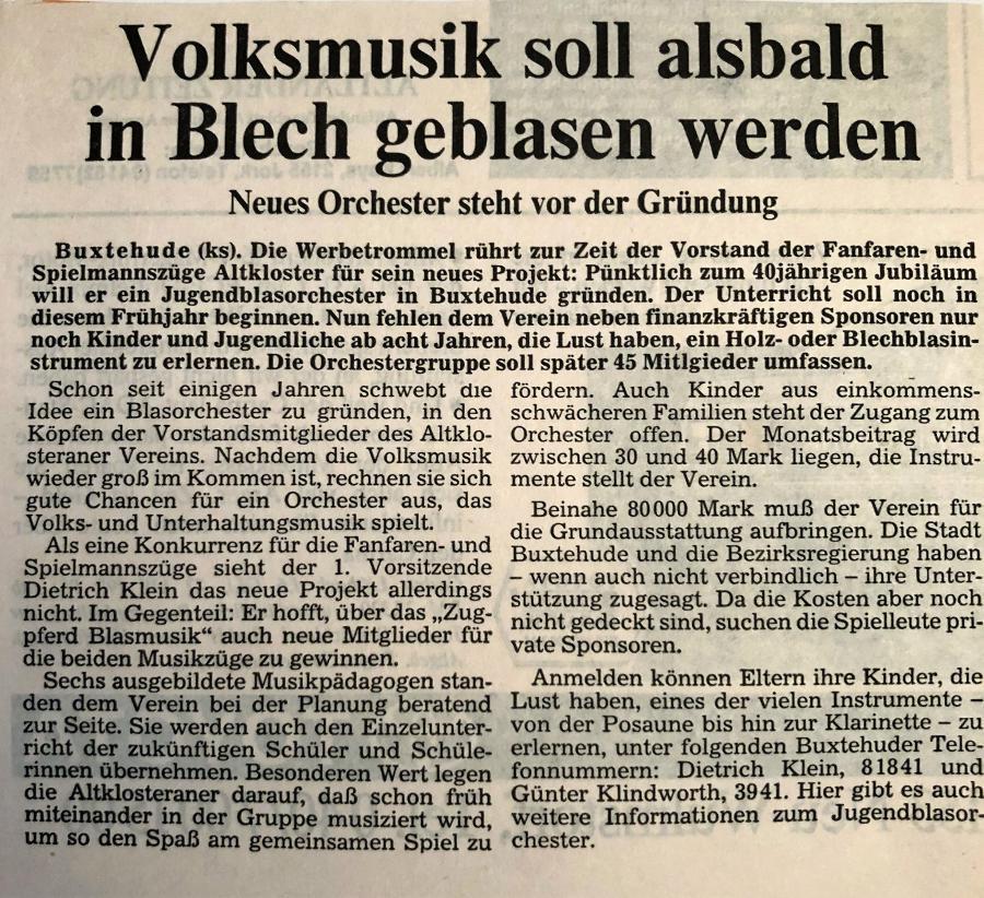 1991-Buxtehuder Tageblatt