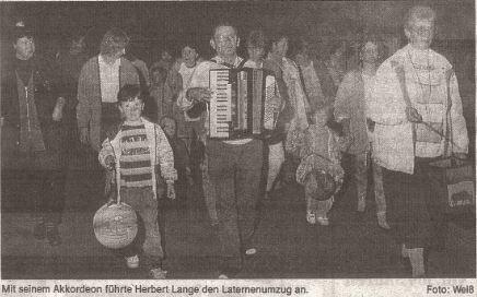 1994 Laternenumzug FF Schnakenbek