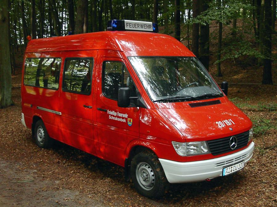 1996 neuer Mercedes-Sprinter
