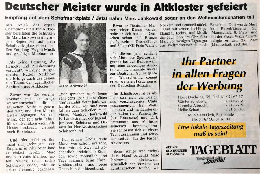 1997-Marc Jankowski Deutscher Meister