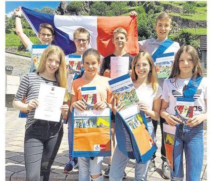 Bundeswettbewerb Fremdsprachen 2019-Die Klasse 7a gewann einen ersten Landespreis