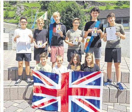 Bundeswettbewerb Fremdsprachen 2019-Die Klasse 8a gewann einen ersten Landespreis
