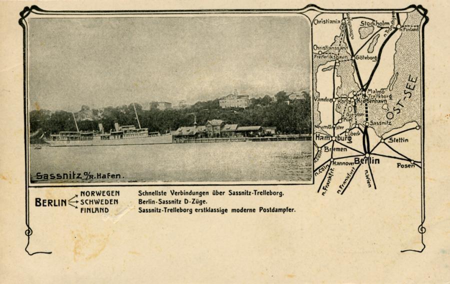 19 Sassnitz Hafen Karte