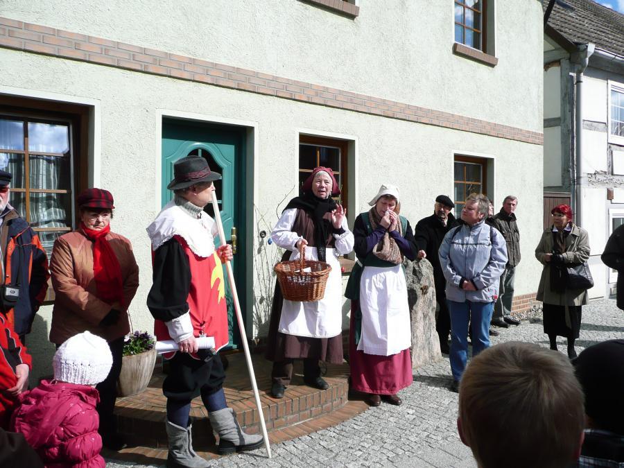 Stadtführung in Wusterhausen