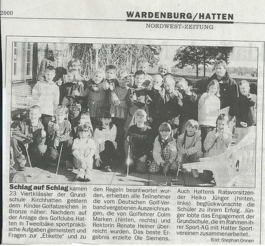NWZ September 2000
