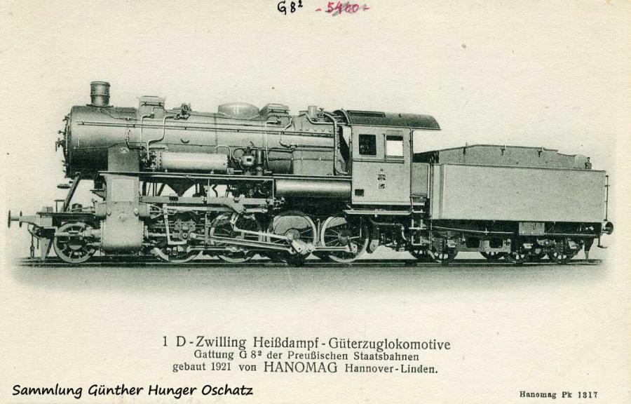 1 D-Zwilling Heißdampf-Güterzuglokmotive