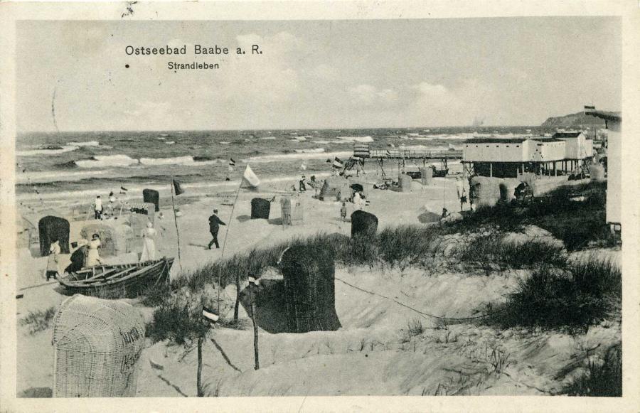 Ostseebad Baabe  a. R. Strandleben