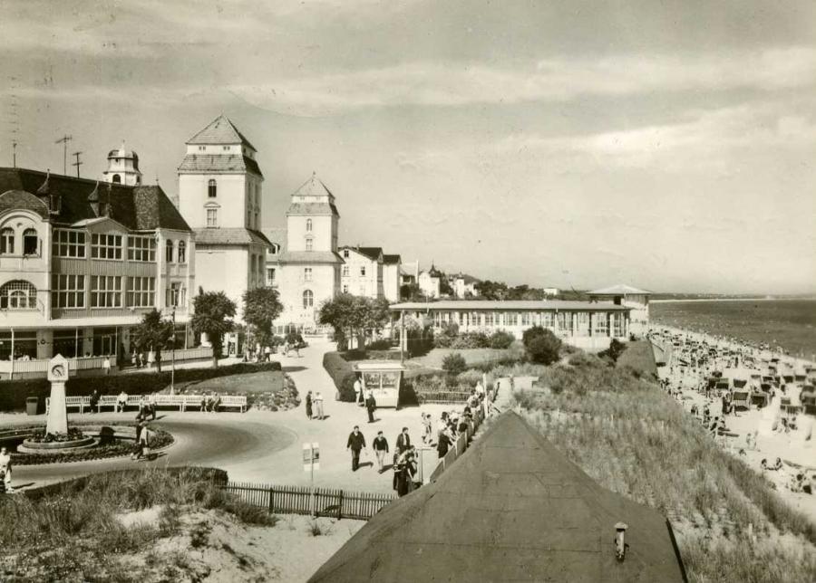 Ostseebad Binz Kurhaus am Strand