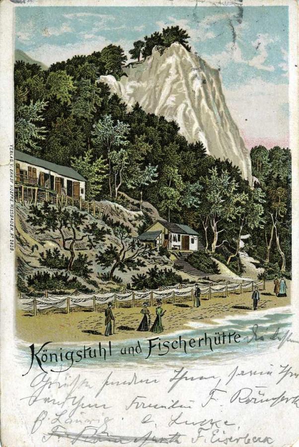 1 Stubbenkammer und Königsstuhl 1901