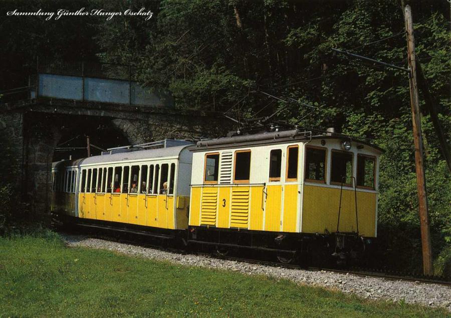 Wendelsteinbahn elektr. Zahnradbahn
