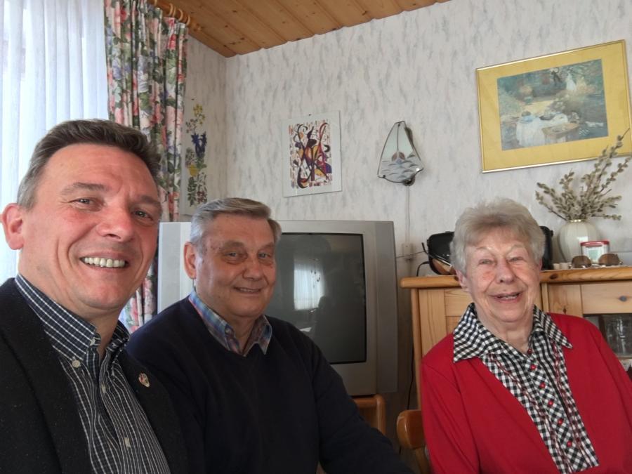 Gästeehrung Familie Stoltefuss