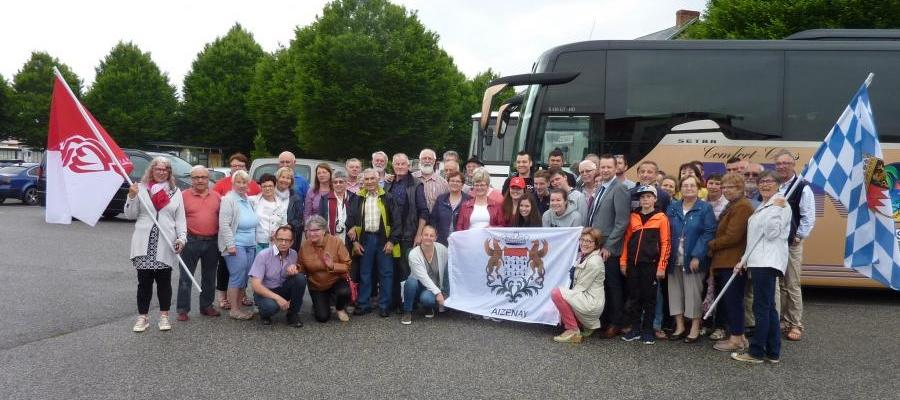 Besuch in Aizenay 2018