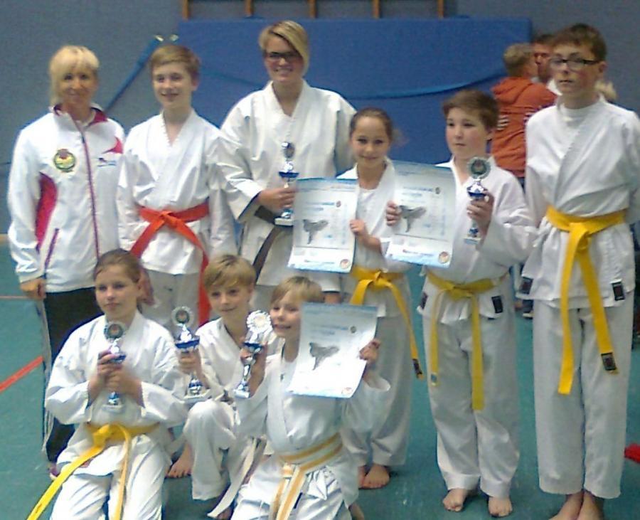 Karate-Gruppe