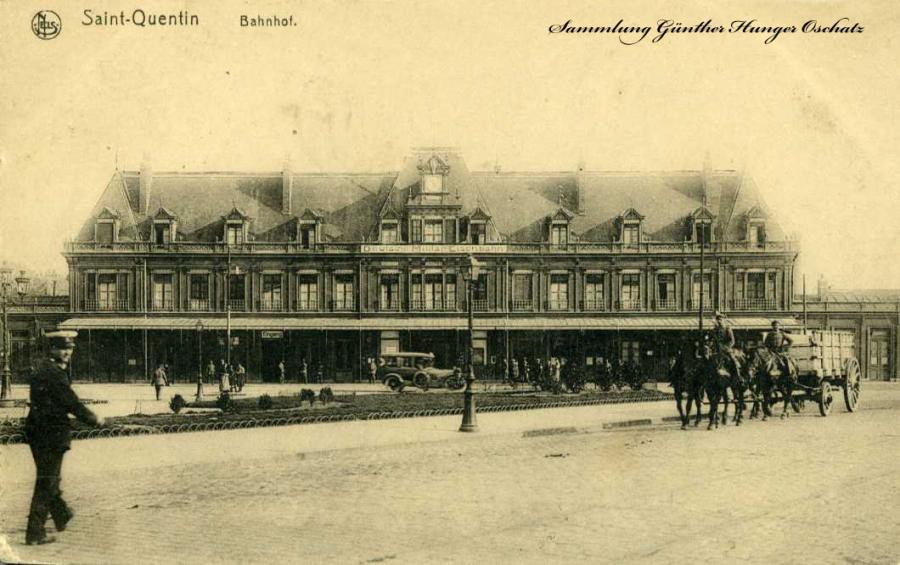 Saint-Quentin Bahnhof