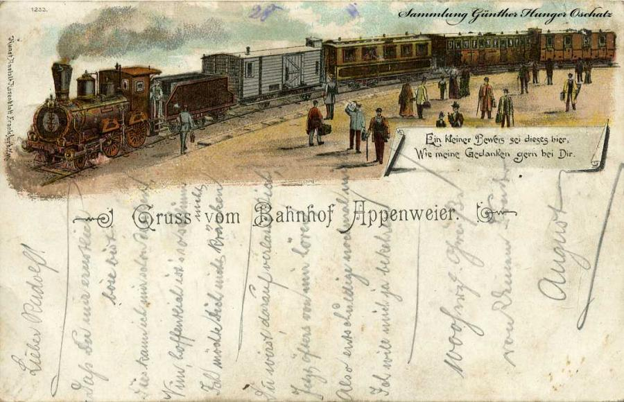 Gruss vom Bahnhof Appenweier