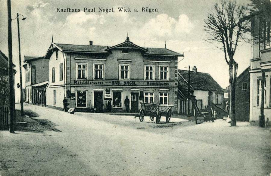 Kaufhaus Paul Nagel Wiek a. Rügen