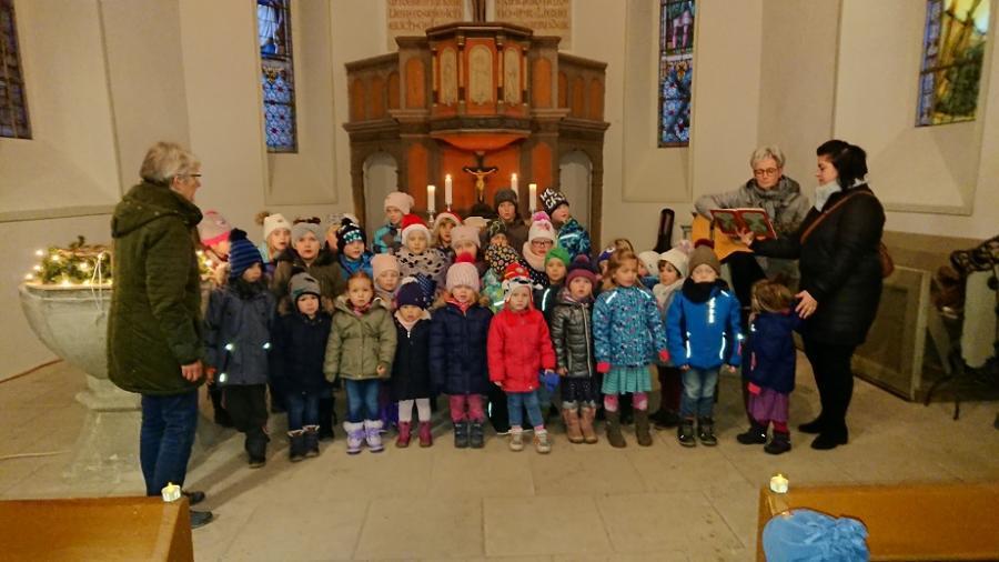 Weihnachtsmarkt in Unseburg Kirche 2018