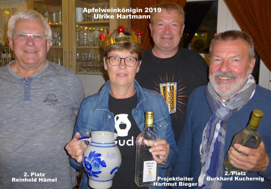 Apfelweinkönigin 2019