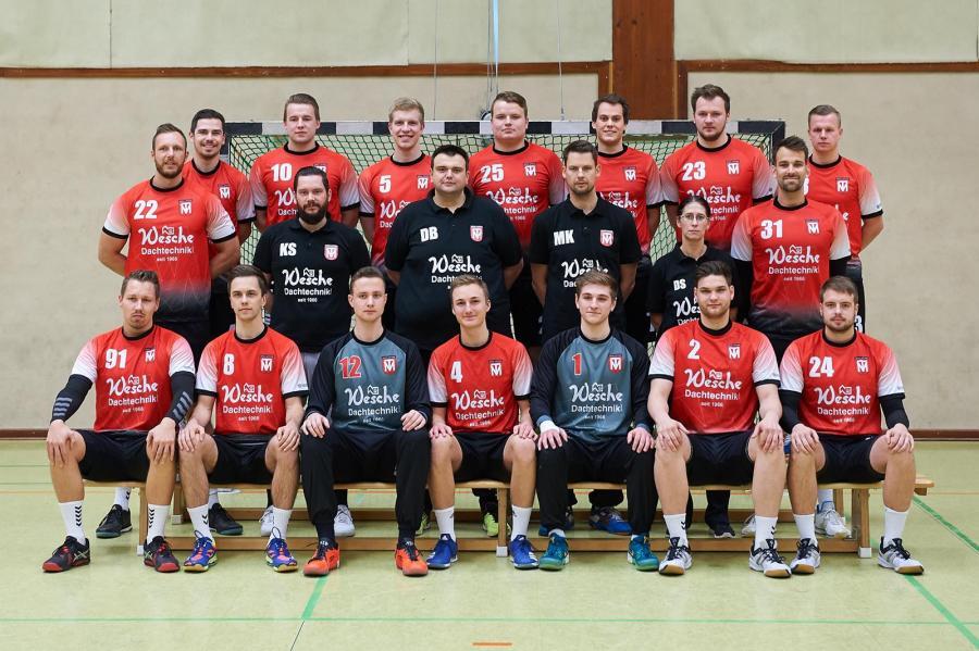 Mannschaftsfoto der 1. Herren (Saison 2018/19)