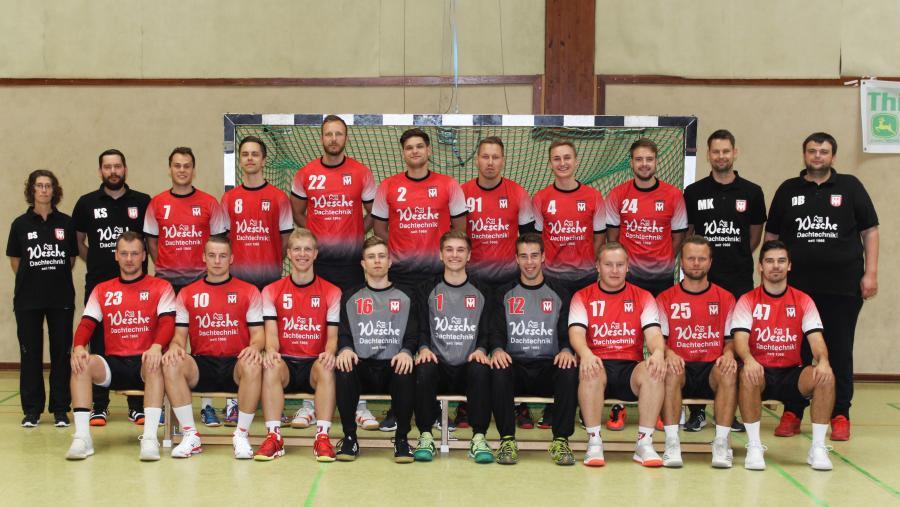 Mannschaftsfoto der 1. Herren (Saison 2019/2020)