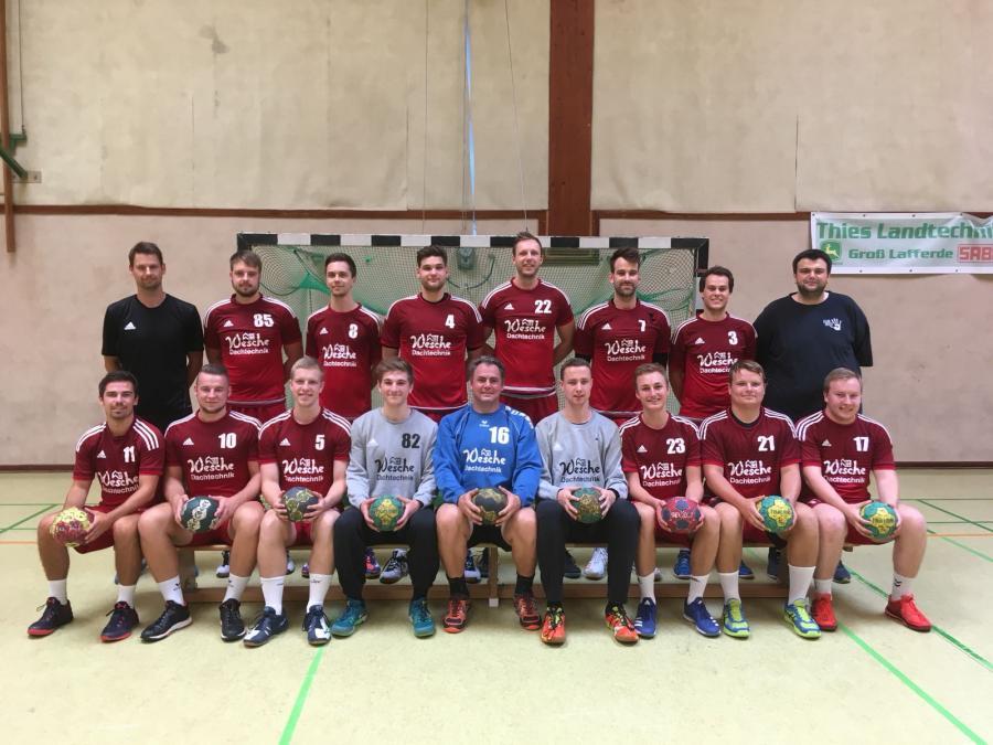Mannschaftsfoto 1. Herren (Saison 2018/19)