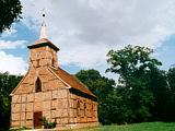 Kirche Klein Plasten