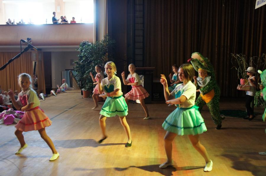 Die Tanzmäuse bei ihrem Auftritt