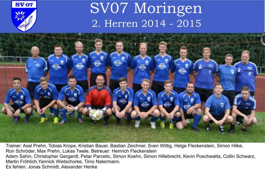 2.Herren 2014 - 2015