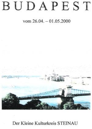 Ein laaaanges Wochenende in Budapest