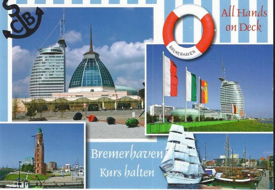 20014 WPK Bremerhaven  Kurs halten
