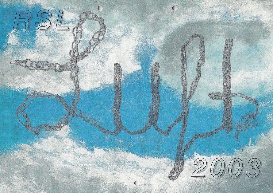 Titel Schulkalender 2003