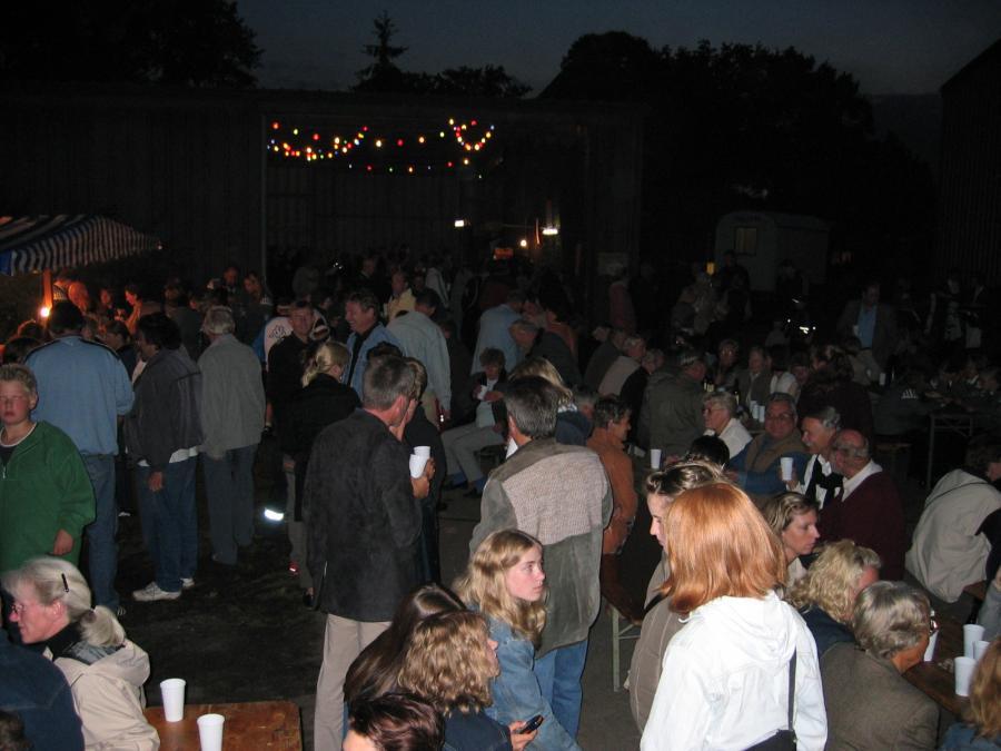 2004-08-28 Laternenumzug und Grillabend