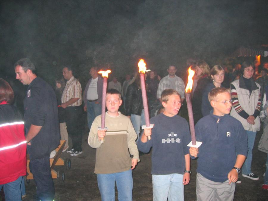 2004-08-28 Laternenumzug und Grillabend 2