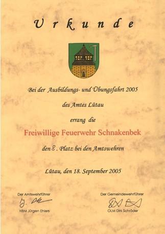 2005-09-18 Ausbildungs+Übungsfahrt