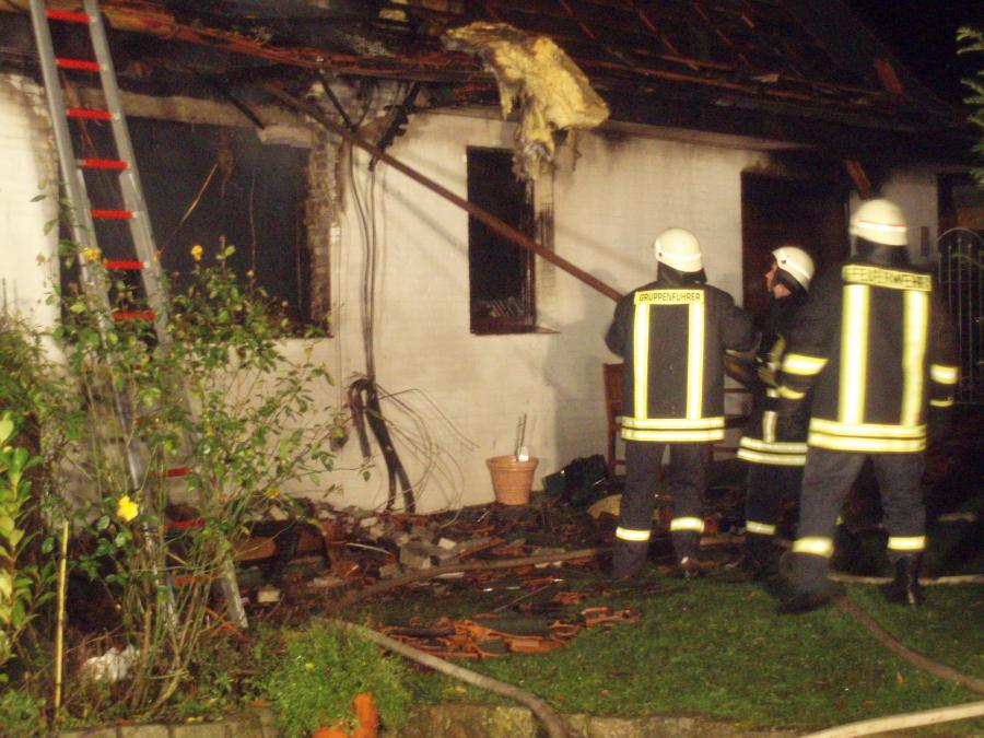 2007-11-11 Feuer Einfamilienhaus Skb