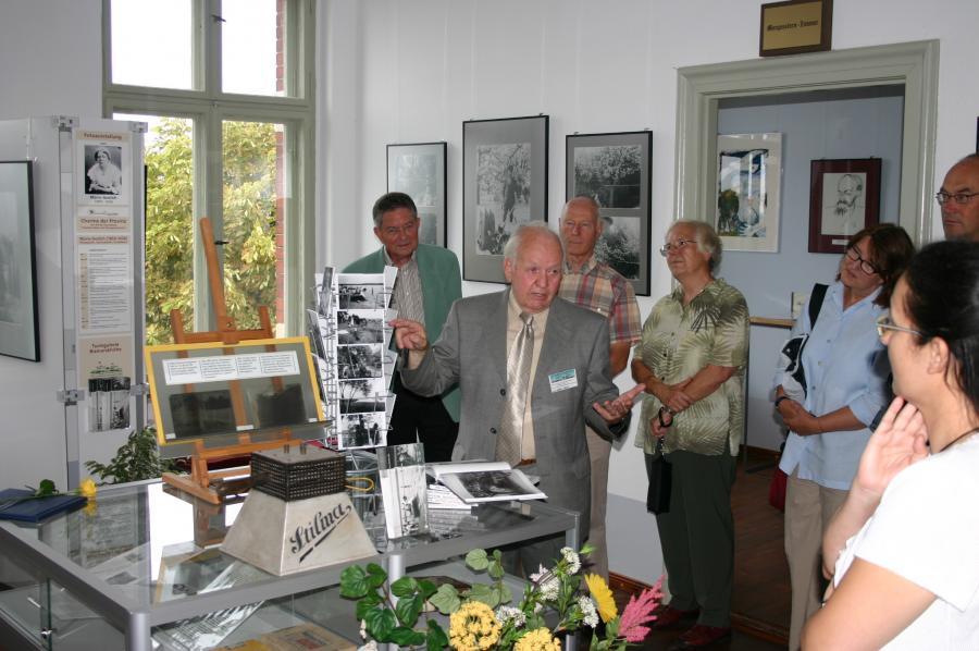 Ausstellungseröffnung im Jahre 2008