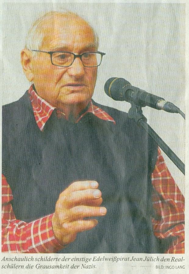 Zeitzeuge Jean Jülich