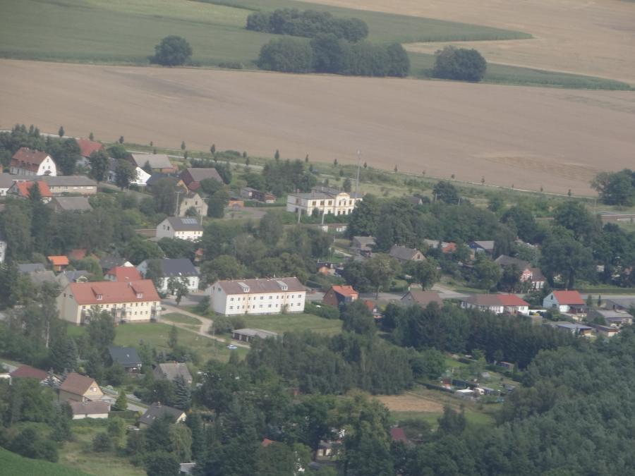 Zernitz-Bahnhof aus der Vogelperspektive