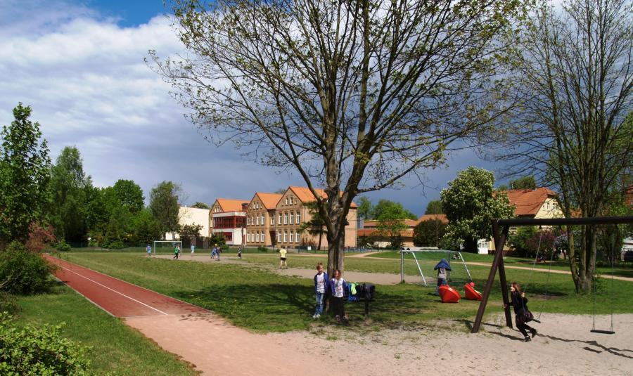 Sportplatz der Pestalozzi Grundschule