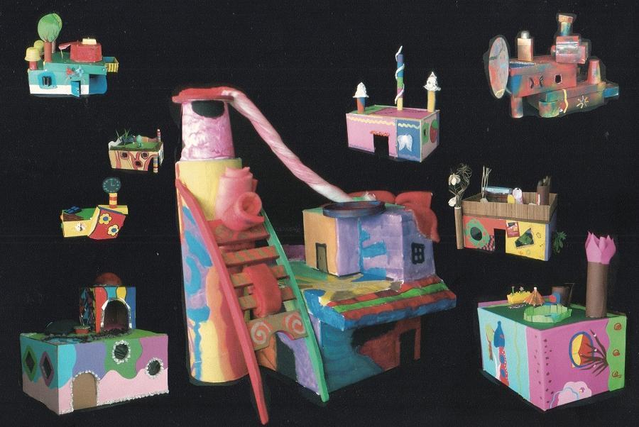 Traumhäuser nach Hundertwasser