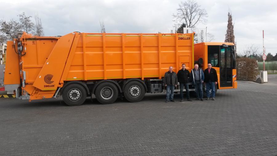 Abholung Müllfahrzeug